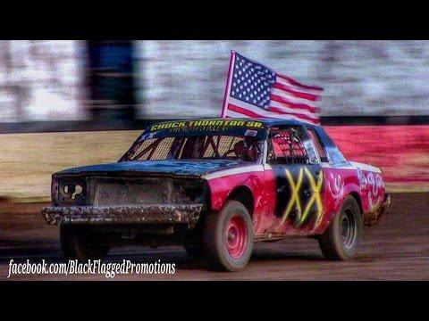 Hobby Stock Main At Canyon Speedway Park May 28th 2016