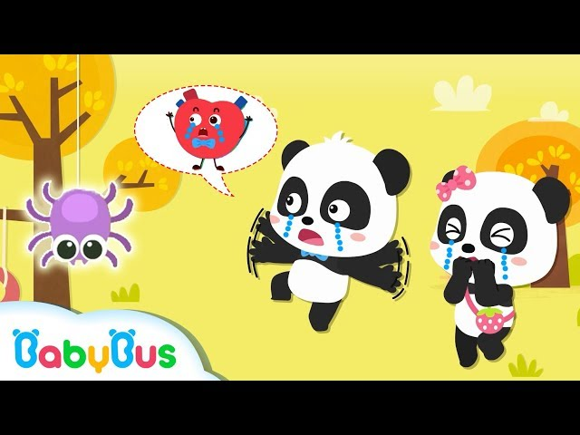 Why is Baby Panda's Heart Thumping? | Learn Colors, Learn Body Parts | Nursery Rhymes | BabyBus