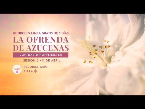 """Un Curso de Milagros - Sesión 2/4 del Retiro en Línea """"La ofrenda de azucenas"""" con David Hoffmeister - Ruslar.Biz"""