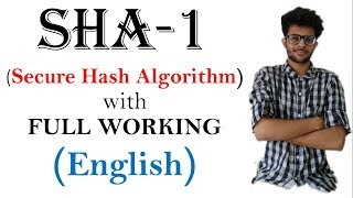 Gambar cover SHA-1 (Secure hash Algorithm) working in English  | CSS series