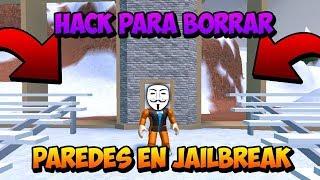 Hack Para Roblox Atravesar Paredes Inparchable Btools - hack para atravesar paredes en roblox