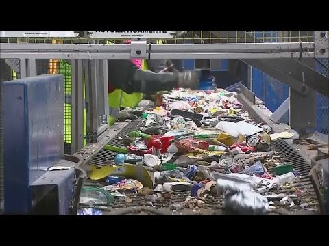 Denver Recycling Center Testing Robotic Sorter