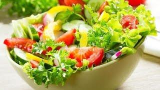 Легкий и простой салатик из овощей к столу. Рецепт салата из овощей. Рецепт салата из овощей!