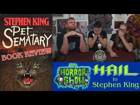 """Pet Sematary"" 1983 Stephen King Retro Book Review - Hail to Stephen King EP118 Mp3"
