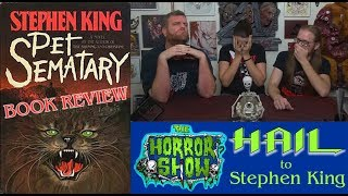 """Pet Sematary"" 1983 Stephen King Retro Book Review - Hail to Stephen King EP118"