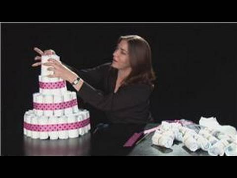 Diaper Cake Design Ideas
