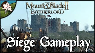 Mount & Blade II Bannerlord - Siege Gameplay!