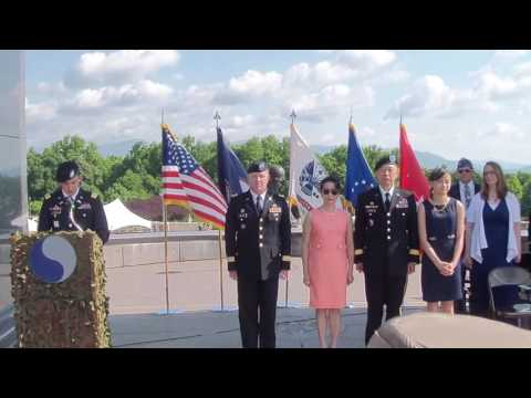 Promotion Ceremony for Brigadier General Lapthe C. Flora