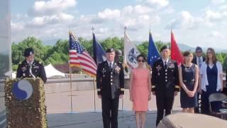 Promotion Ceremony for Brigadier General Lapthe C. Flora