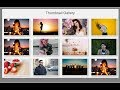 Awesome bootstrap responsive thumbnail image gallery