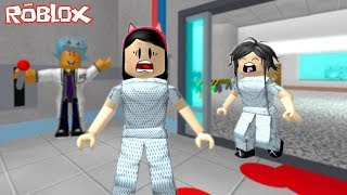ROBLOX-FLEEING THE MAD DOCTOR (Escape The Evil Hospital Obby) | Luluca Games