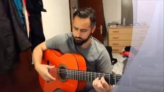 Compas Bulerias Alazpúa Paco de Lucia - Guitarra Flamenca Alhambra 4F