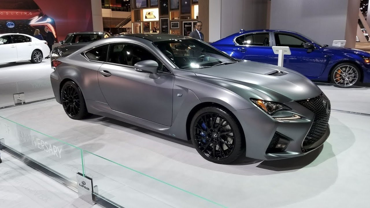 Lexus unveils 2019 GS F and RC F 10th anniversary editions ...