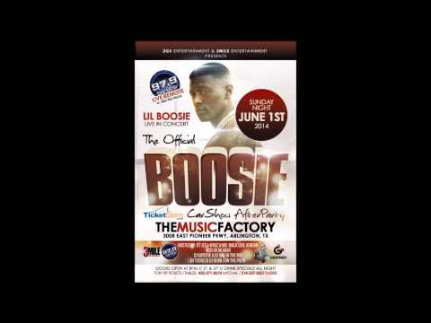 Lil Boosie Badazz Live @ Music Factory (Arlington) Sunday June 1st