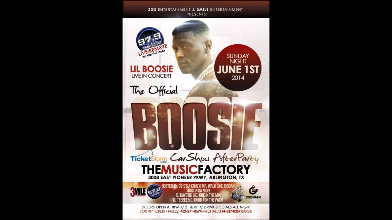 Lil Boosie Badazz Live @ Music Factory (Arlington) Sunday June 1st