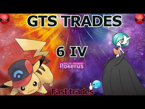 Pokemon   Event   GTS Trades   Shiny Gardevoir & Sinnoh PIKACHU *CLOSED