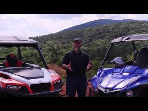 2017 Yamaha Wolverine R Spec vs Polaris General Deluxe - Dauer: 8 Minuten, 8 Sekunden