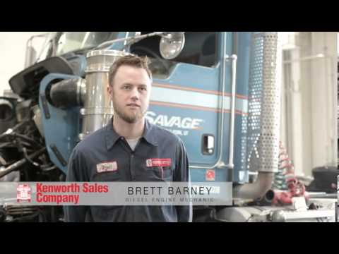Kenworth Sales Company long