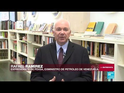 """Rafael Ramírez, expresidente de Pdvsa: """"Los venezolanos somos los que pondremos los muertos"""""""