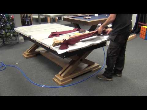 Brunswick Pool Table Installation