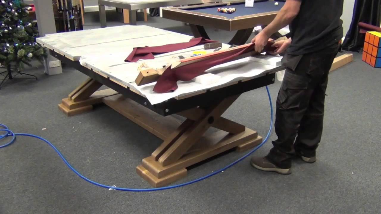 Brunswick Pool Table Installation YouTube - 4 x 8 brunswick pool table