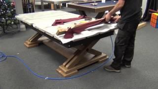Brunswick Pool Table Installation