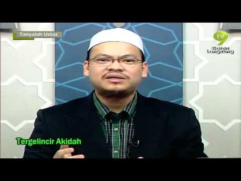 Tergelincir Aqidah Oleh Dr Zaharuddin Tanyalah Ustaz 30 Mac