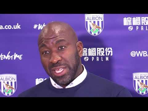 Darren Moore unveiled as permanent West Brom boss
