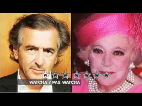 Barbara Cartland vs Bernard Henry Lévi - Watcha / ...
