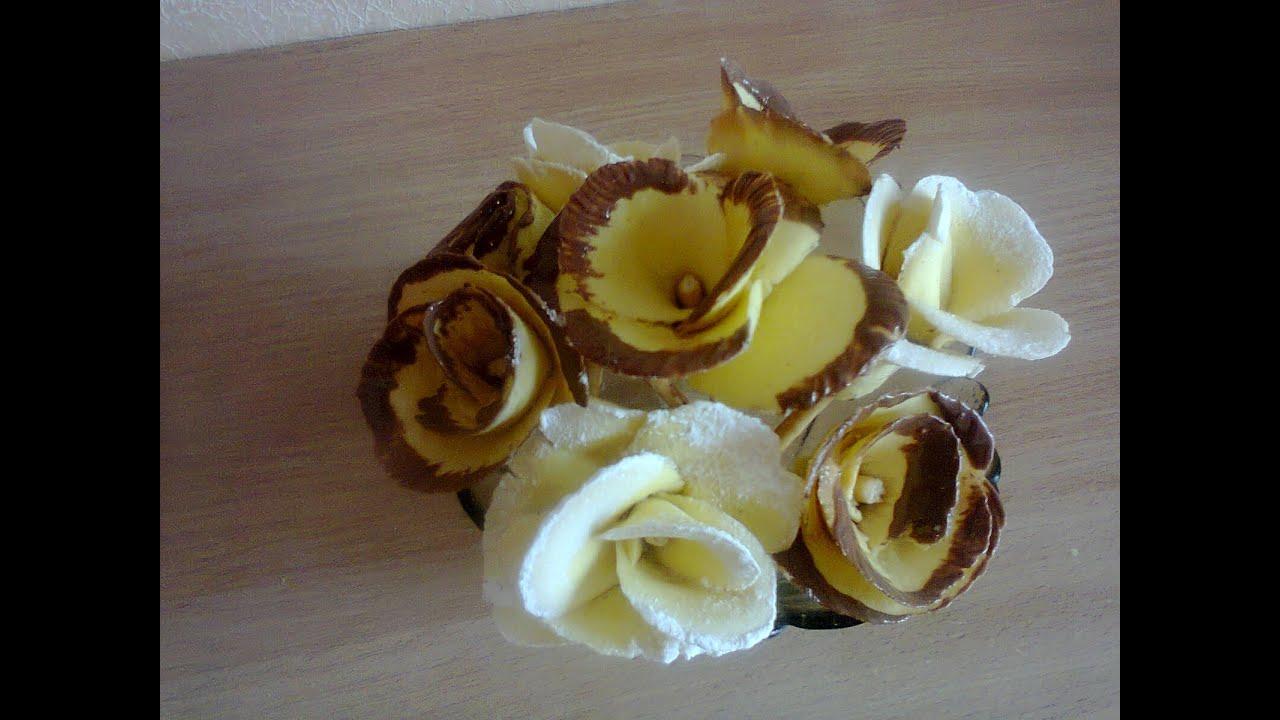 Сладкие розы выпечка