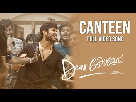 dear-comrade-malayalam---the-canteen-song-full-video-song-|-vijay-deverakonda,-rashmika-bharat