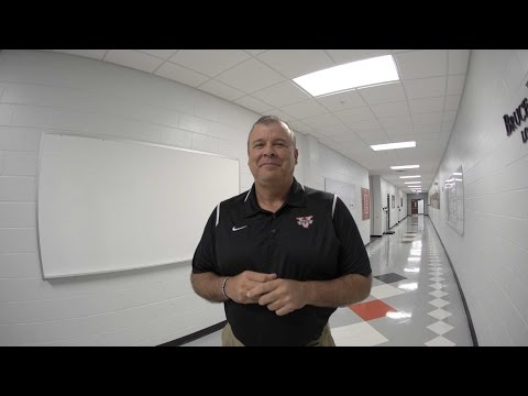 Locker Room Tour | Head Football Coach Kerwin Bell