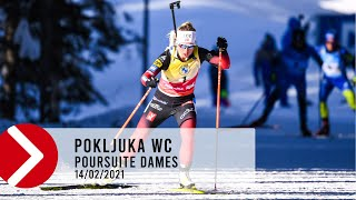 POURSUITE DAMES - POKLJUKA WC 2021