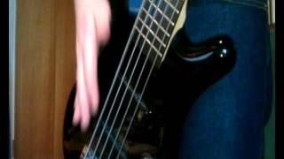 Toshiya (Dir en Grey) / Fieldy (KoRn) style BASS slapping TUTORIAL