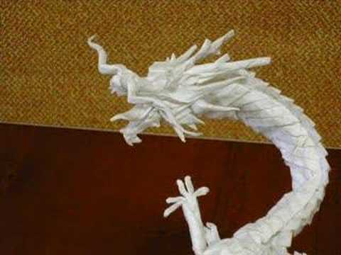 How To Make The Coolest Origami Dragon Ever