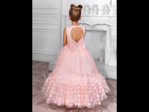 Детское платье в горох оптом!