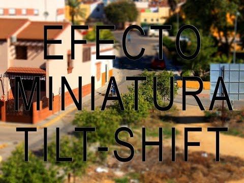Fotografía Tilt-Shift o miniatura. Doblejotafoto