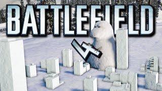 Battlefield 4 Funny Final Stand Moments - Easter Eggs, Float Glitch, Alien Gun, Godzilla Snowman!