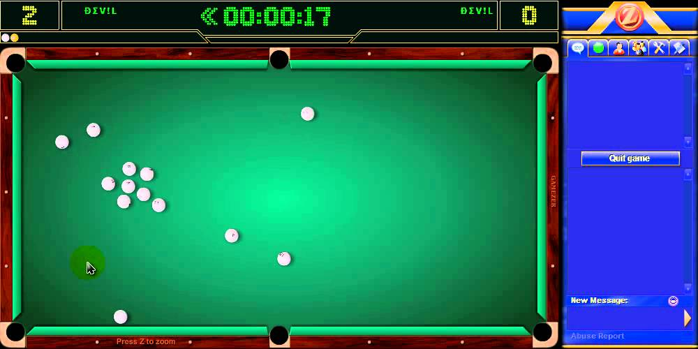 BILLIARD TÉLÉCHARGER ONLINE GAMEZER