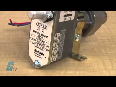 barksdale pressure switch manual