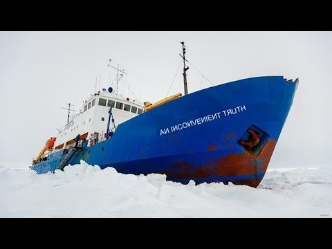 "Another ""Ship of Fools"" gets grounded in Arctic ice, needs rescue - Global Warming Fail"