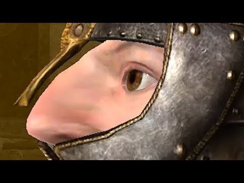 Oblivion is the only game where you can save Sean Bean from himself