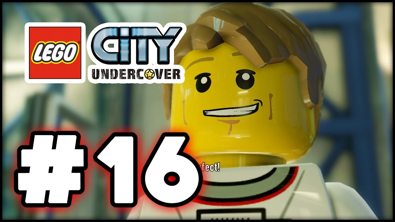 Lego City Undercover Part 16 Space Hd Gameplay Walkthrough Youtube