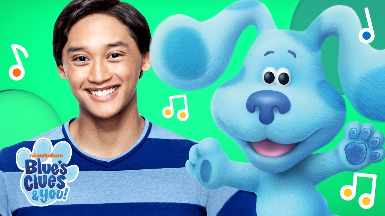It is a graphic of Genius Blues Clues Image