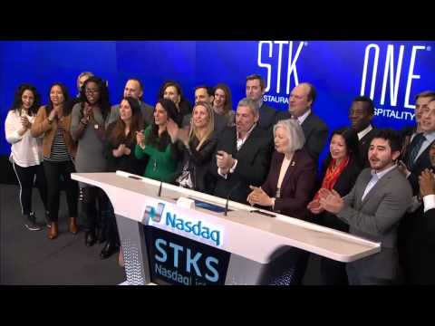 STK - The ONE Group Hospitality, Inc. (Nasdaq: STKS) rings the Nasdaq Closing Bell
