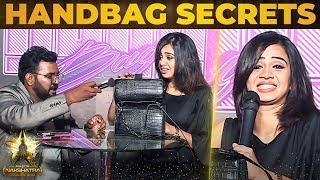 VJ Anjana's Ultimate Make up & HANDBAG SECRETS Revealed By VJ Ashiq