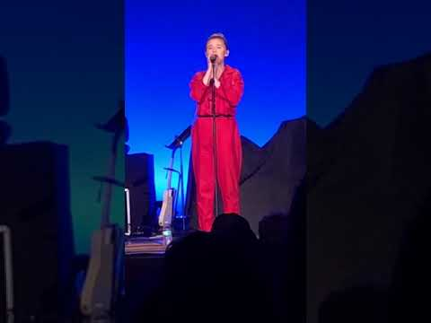 Addison Agen singing LUCKY