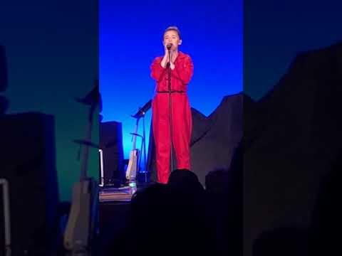 Addison Agen singing LUCKY