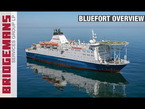 Bridgemans Services Group - MV Bluefort
