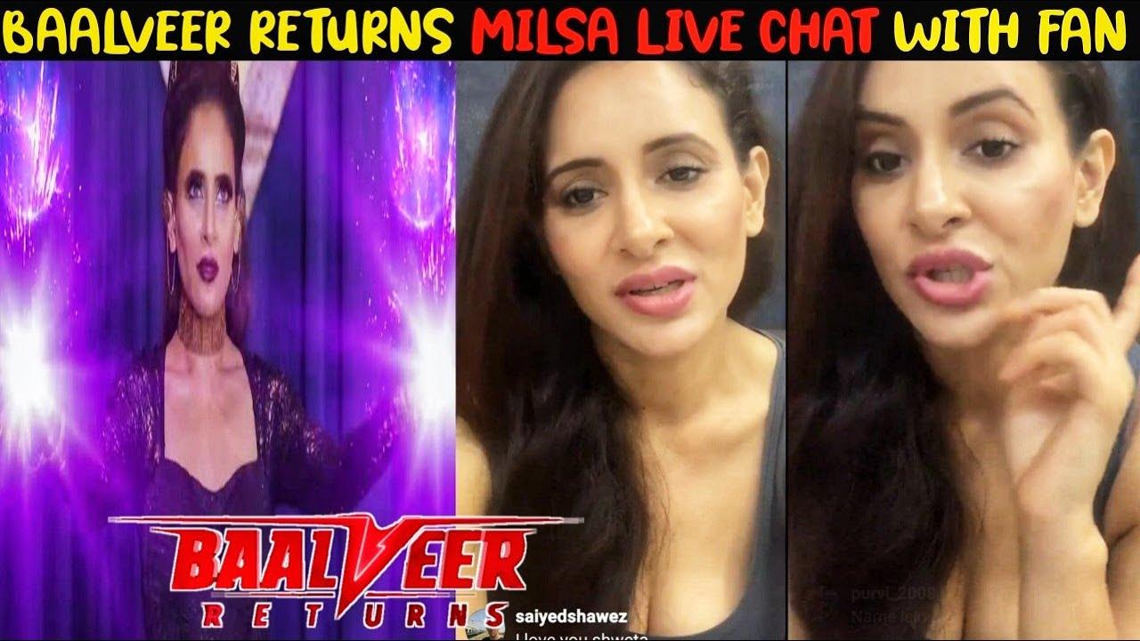 Live Chat Milsa With Fan | Baalveer Returns | Baalveer Retruns Upcoming Ep 195  | Baalveer Returns